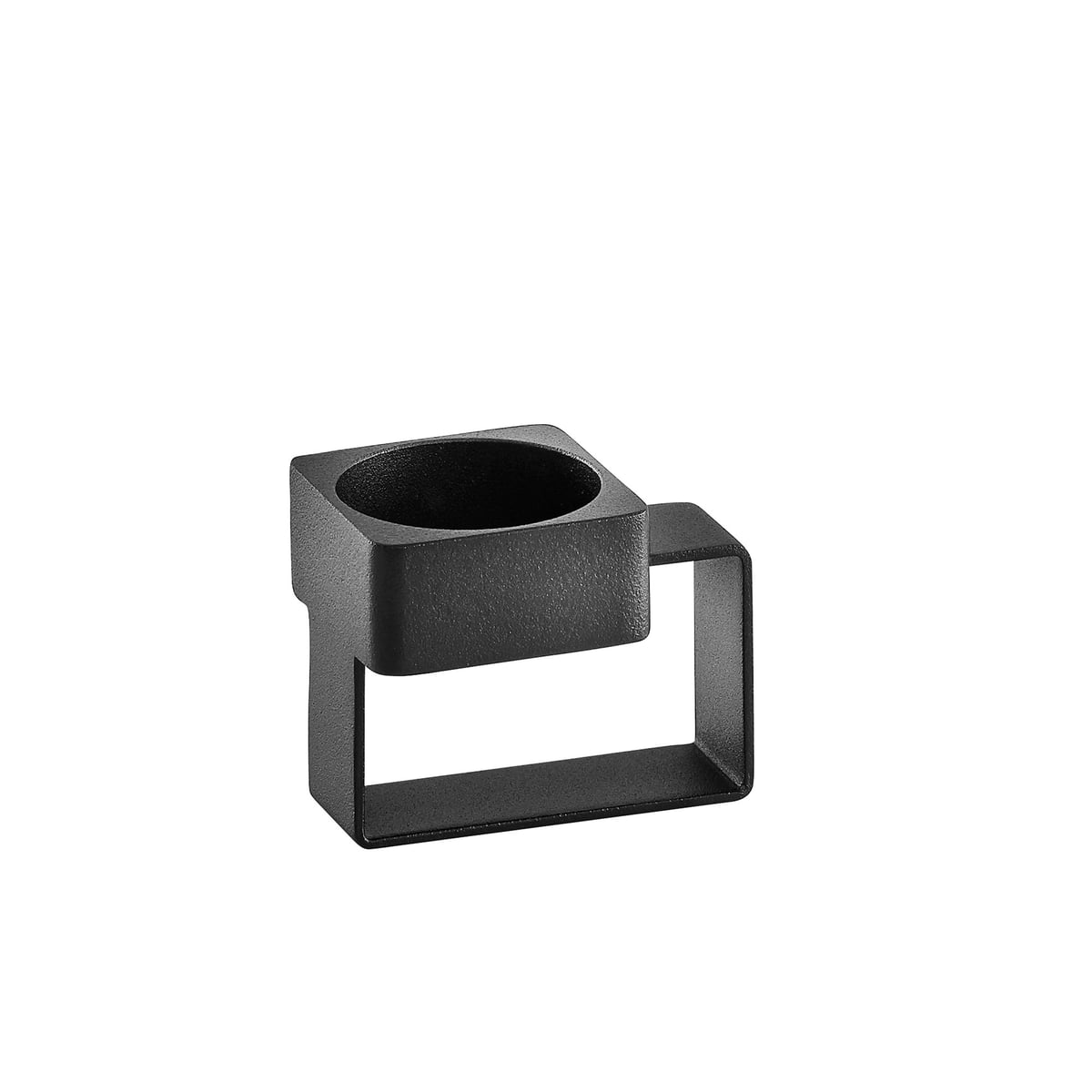 Woud - Tap Teelichthalter. schwarz | Dekoration > Kerzen und Kerzenständer | Schwarz | Metall -  lackiert | Woud