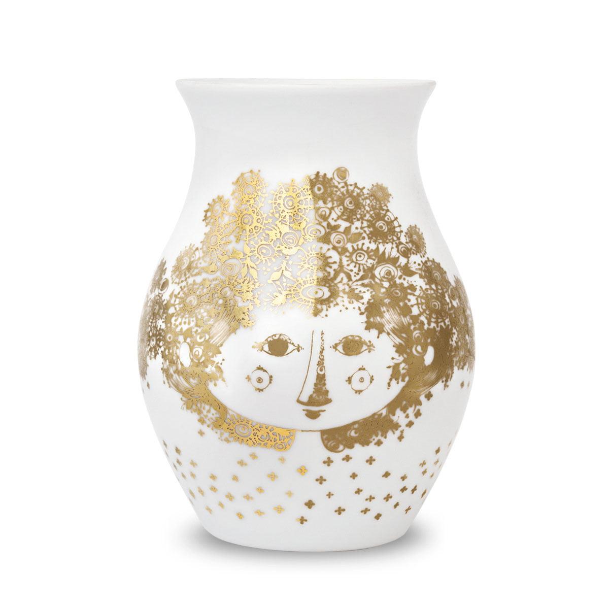 Bjørn Wiinblad - Vase Felicia, gold | Dekoration > Vasen | Gold | Bjørn Wiinblad