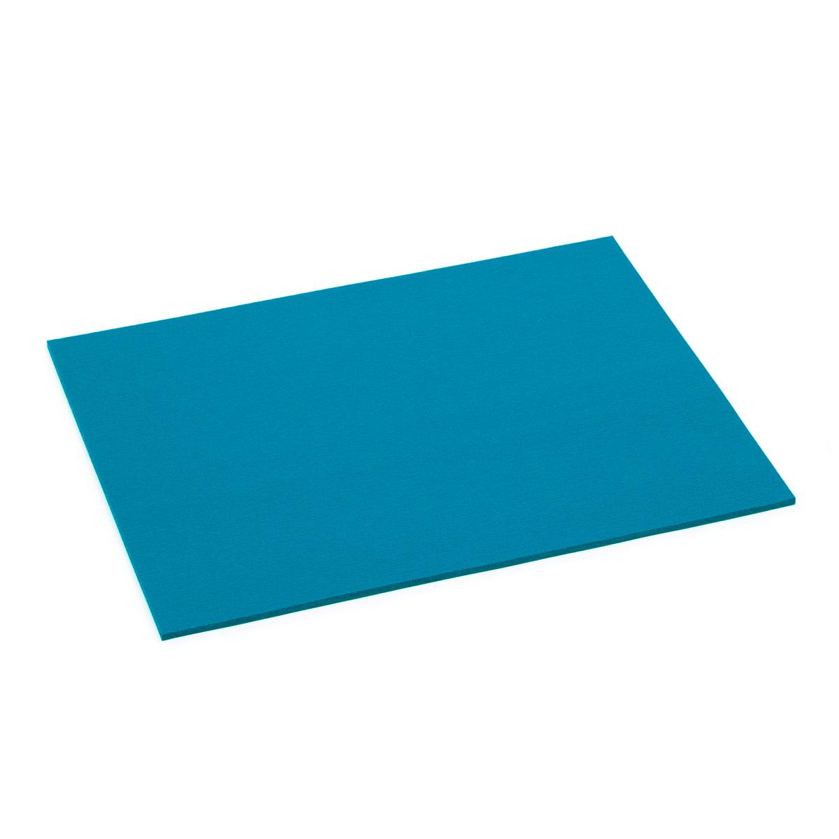 Hey Sign - Tischset rechteckig, 5 mm, petrol | Heimtextilien > Tischdecken und Co > Tisch-Sets | Petrolblau | Hey Sign