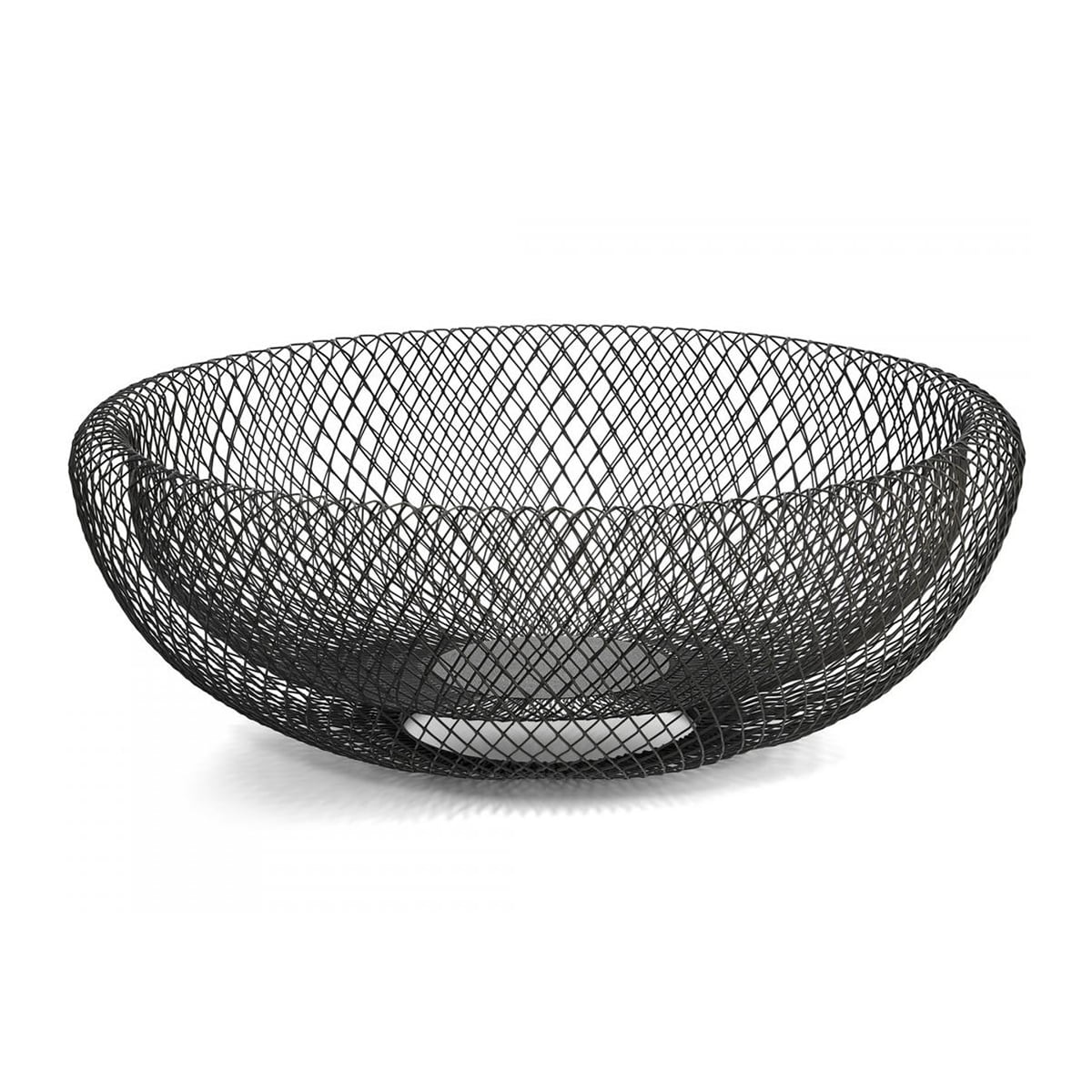 Philippi Design Philippi - Mesh XL Schale, Ø 40 cm | Dekoration > Aufbewahrung und Ordnung > Schalen | Stahl natur | Stahl -  pulverbeschichtet | Philippi Design