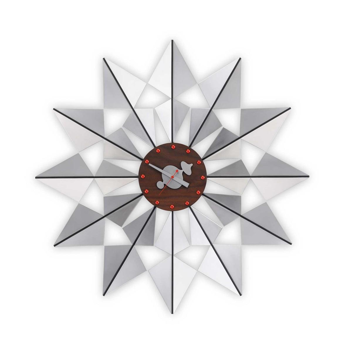 Vitra - Flock of Butterflies Wanduhr, Aluminium | Dekoration > Uhren > Wanduhren | Aluminium | Verschiedene hölzer und metalle. quarz-uhrwerk | Vitra