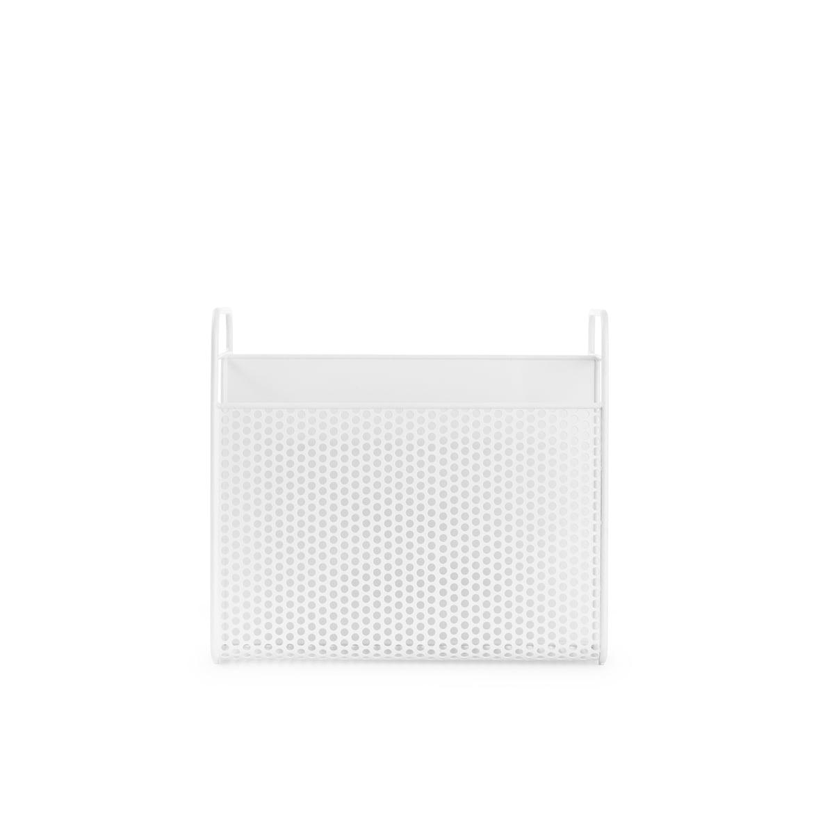 Normann Copenhagen - Analog Zeitschriftenhalter, weiß | Dekoration | Weiß | Stahl -  pulverbeschichtet | Normann Copenhagen