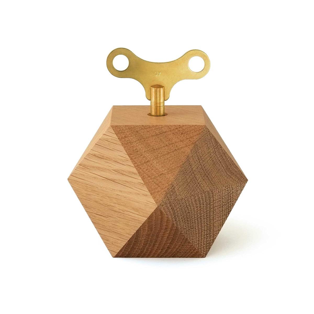 siebensachen - Diamond Spieluhr | Kinderzimmer > Spielzeuge > Spieluhren | Eiche gewachst | Eiche | siebensachen