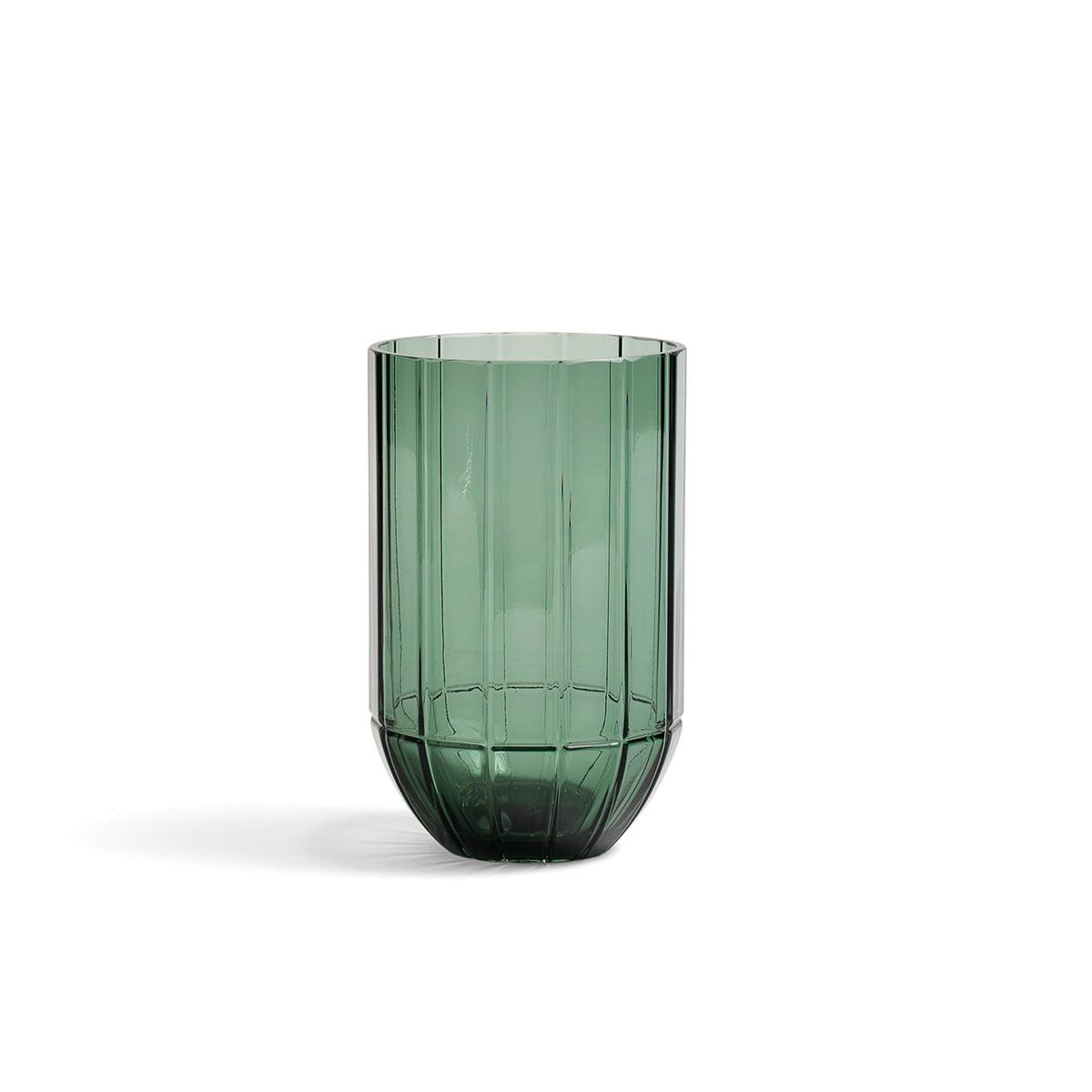 Hay colour vase glasvase m gruen frei