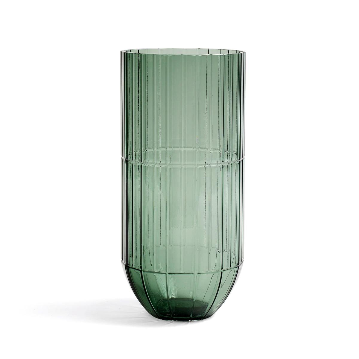 Hay colour vase glasvase xl gruen frei