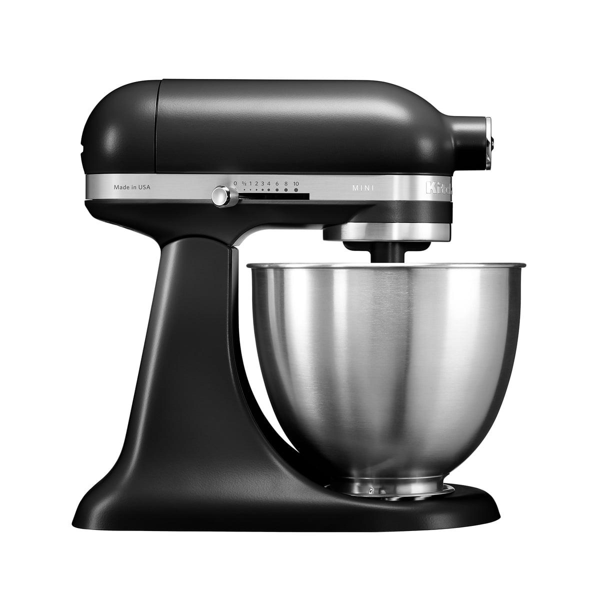 Kitchen Aid KitchenAid - Mini Küchenmaschine 3,3 l, matt schwarz | Küche und Esszimmer > Küchen > Miniküchen | Schwarz - Matt | Kitchen Aid