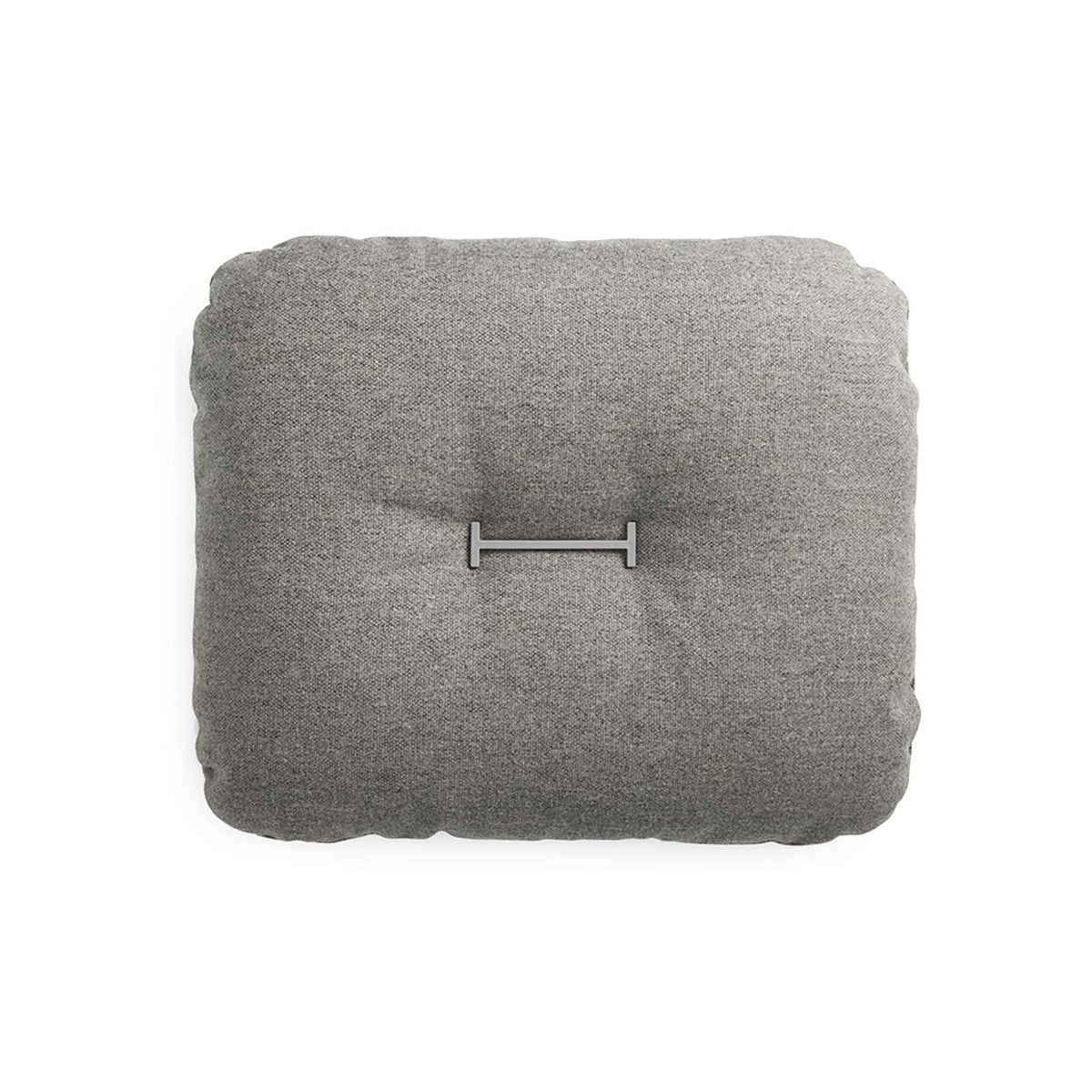 Normann Copenhagen - Hi Cushion Flax 50 x 60 cm, grau   Heimtextilien > Decken und Kissen > Kissen   Grau   Normann Copenhagen