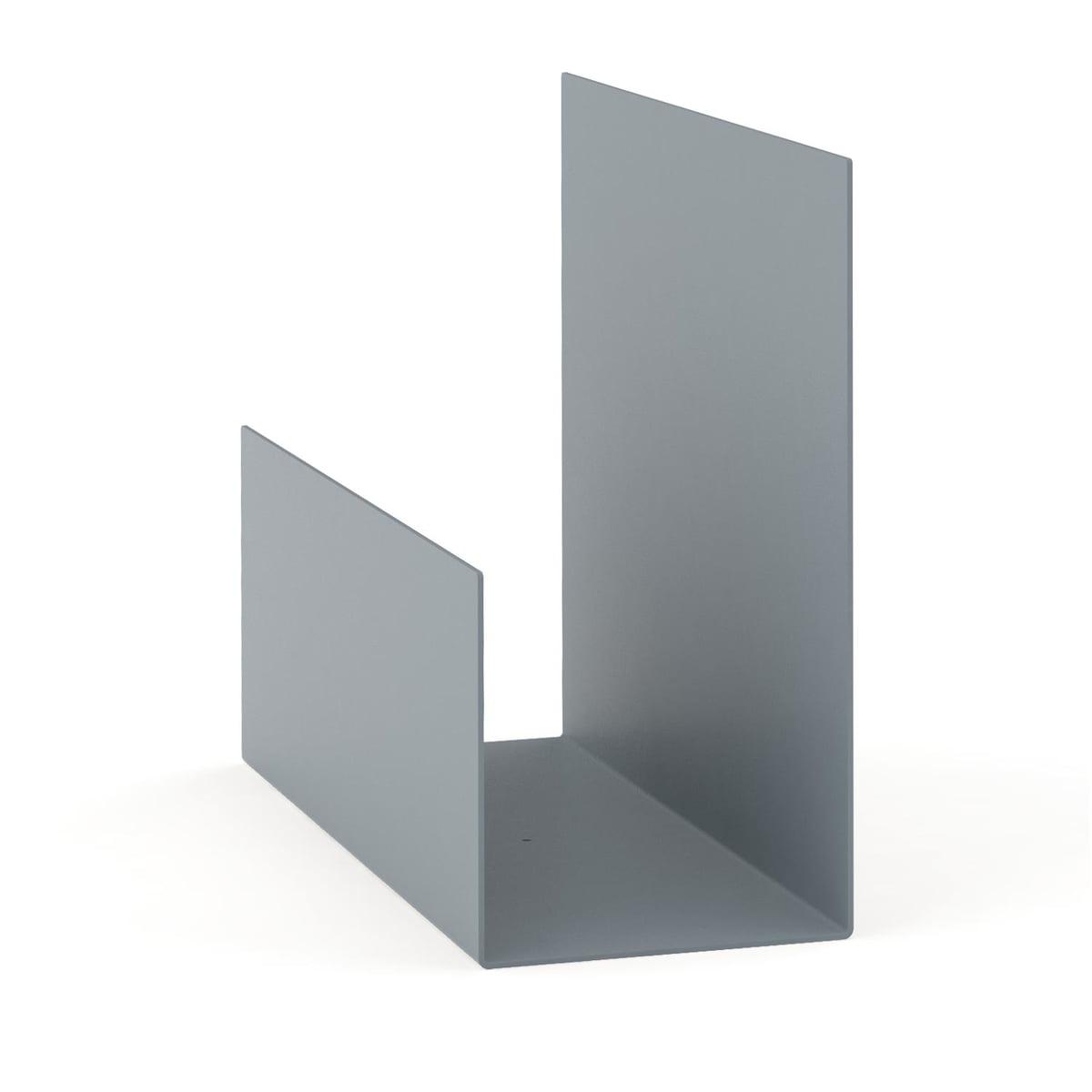 Konstantin Slawinski - El Regalsystem, grau | Wohnzimmer > Regale > Regalsysteme | Grau | Stahlblech -  pulverbeschichtet | Konstantin Slawinski
