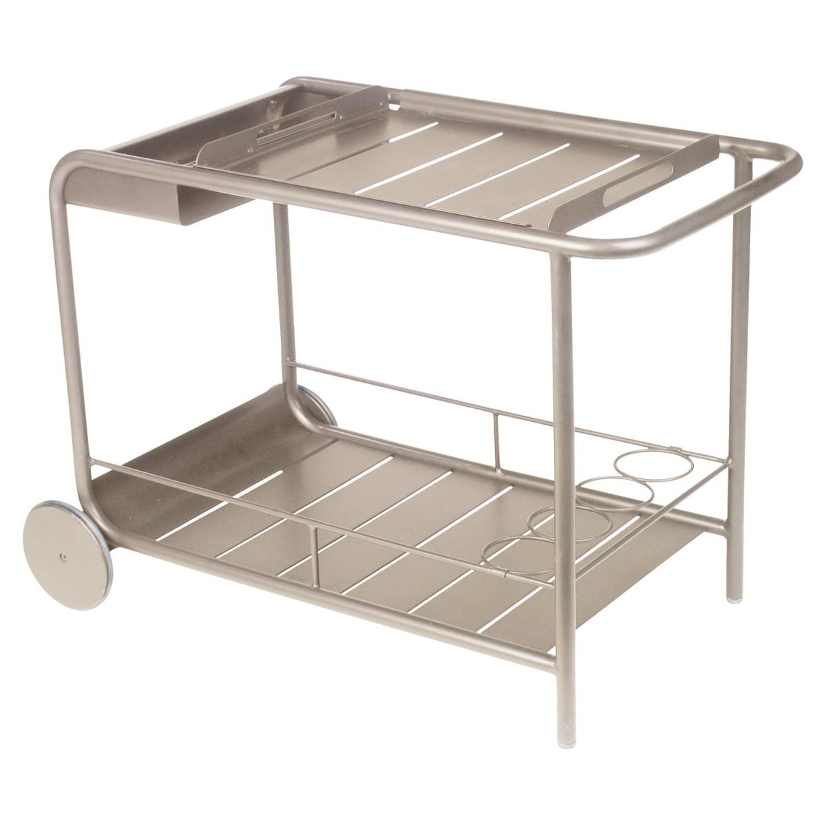 Fermob - Luxembourg Servierwagen, muskat | Küche und Esszimmer > Servierwagen | Muskat | Aluminium | fermob