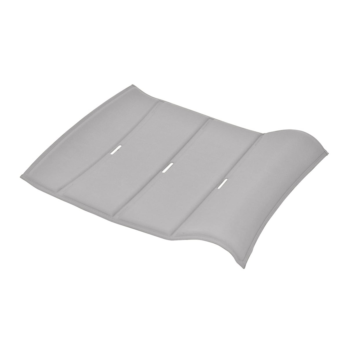 Fermob - Outdoor-Kissen Skin, 45 x 40 cm, grau | Garten > Gartenmöbel > Outdoor-Sitzsäcke | Grau | fermob