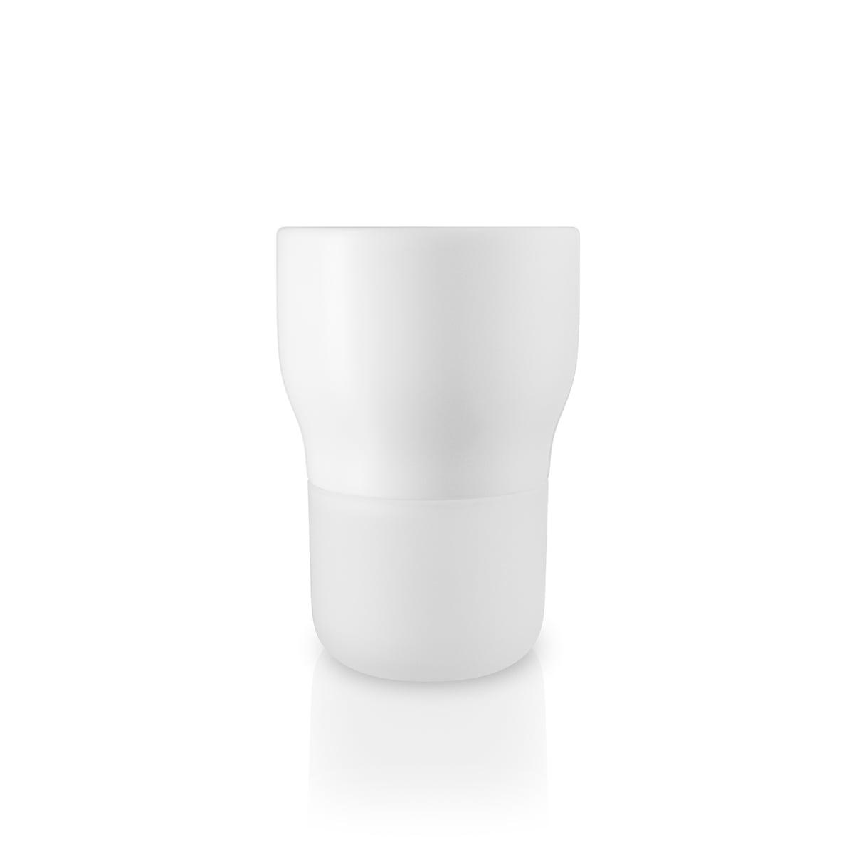 Eva Solo - Selbstbewässernder Kräutertopf, Ø 9 cm / kalkweiß   Garten > Pflanzen > Blumentöpfe   Kalkweiß   Keramik -  glas -  nylon   Eva Solo