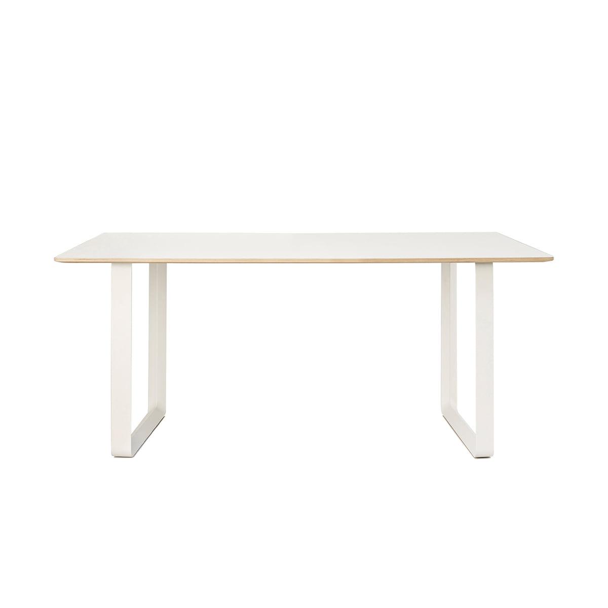 Muuto - 70/70 Esstisch, 170 x 85 cm, weiß (Laminat)   Baumarkt > Bodenbeläge > Laminat   Weiß   Muuto