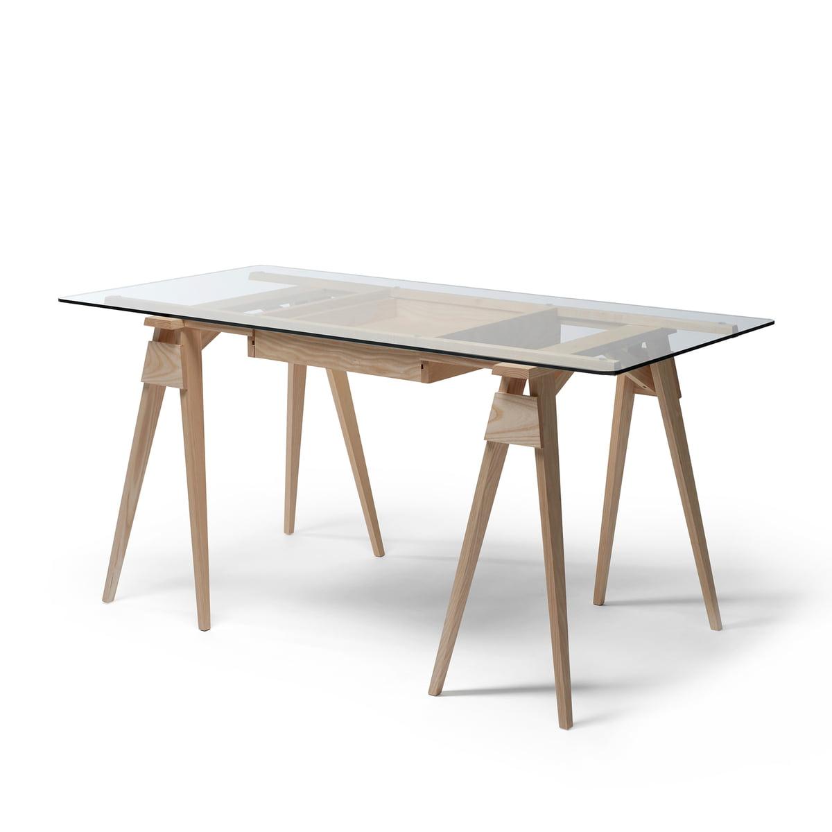 Design House Stockholm - Arco Schreibtisch, Eiche | Büro > Bürotische > Schreibtische | Eichenholz | Design House Stockholm
