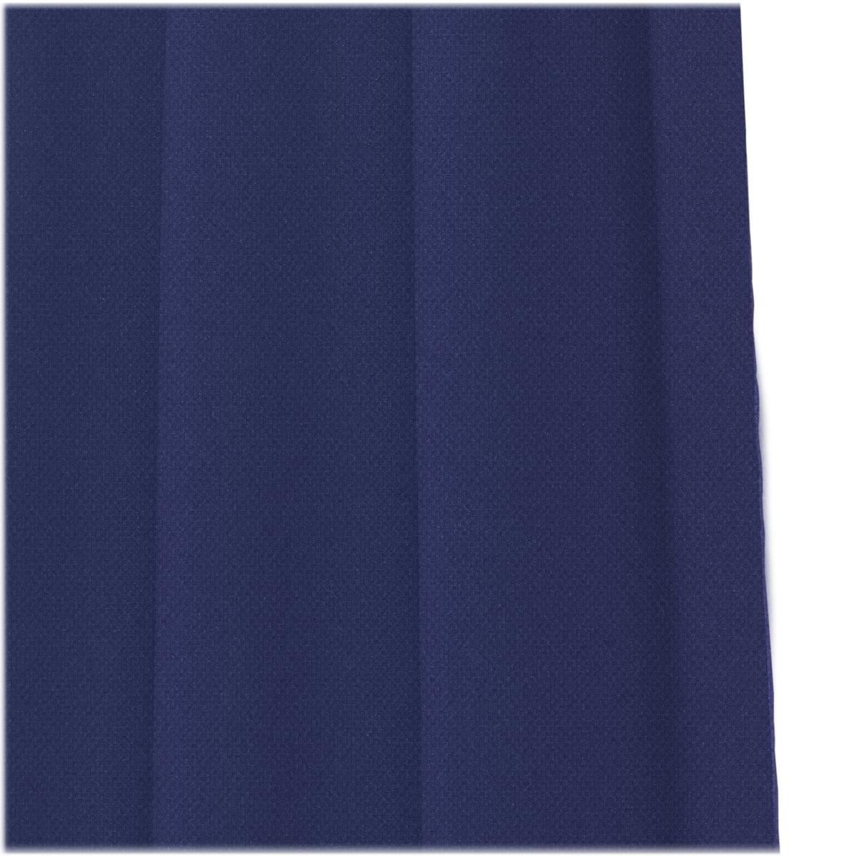 Kvadrat ready made curtain ace stoffmuster petrolblau 772 frei