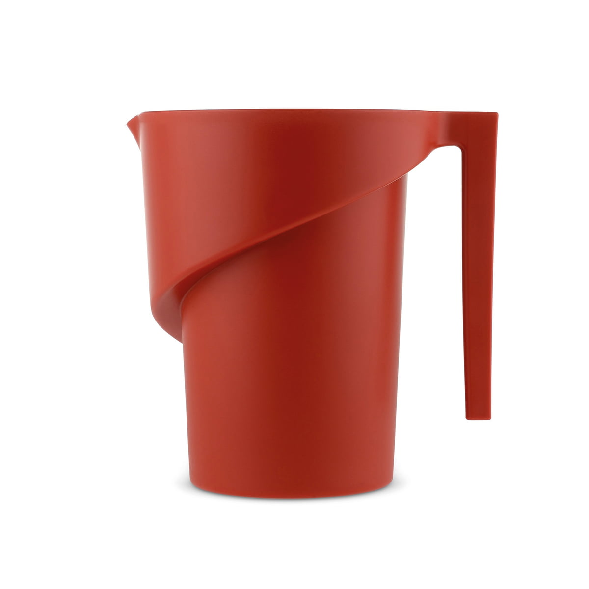A di alessi twisted messbecher rot frei