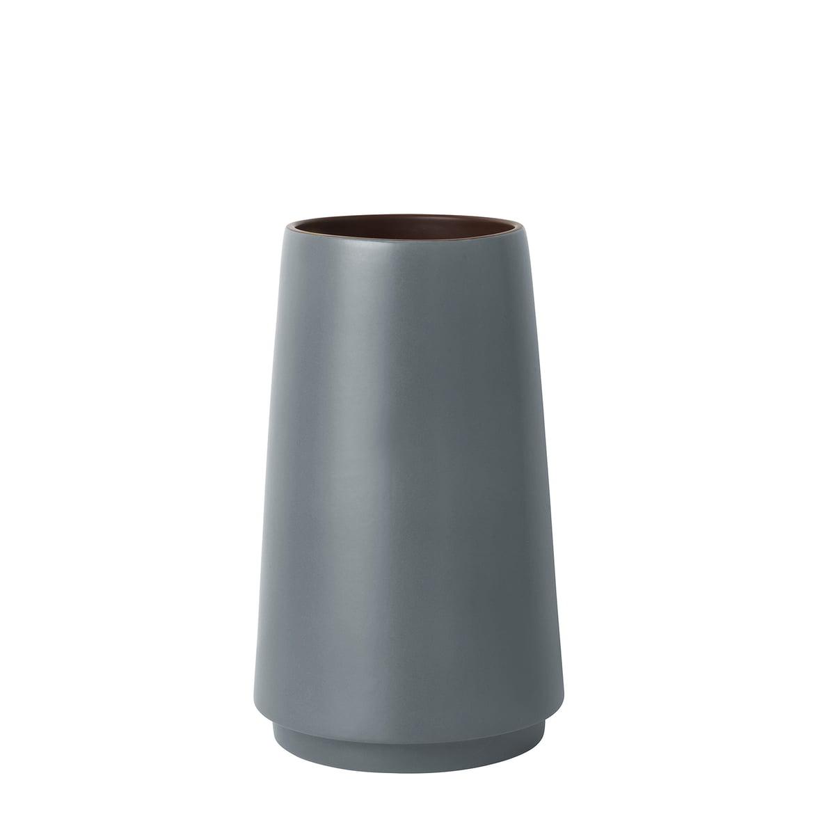ferm Living - Dual Bodenvase klein, H 31 cm, grau | Dekoration > Vasen > Bodenvasen | Grau | ferm living