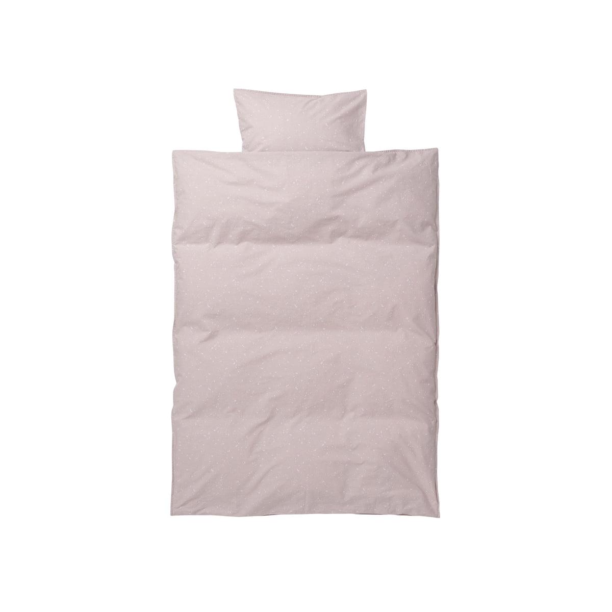 ferm Living - Hush Baby-Bettwäsche, milkyway rose | Kinderzimmer > Textilien für Kinder > Kinderbettwäsche | Rosa | ferm living