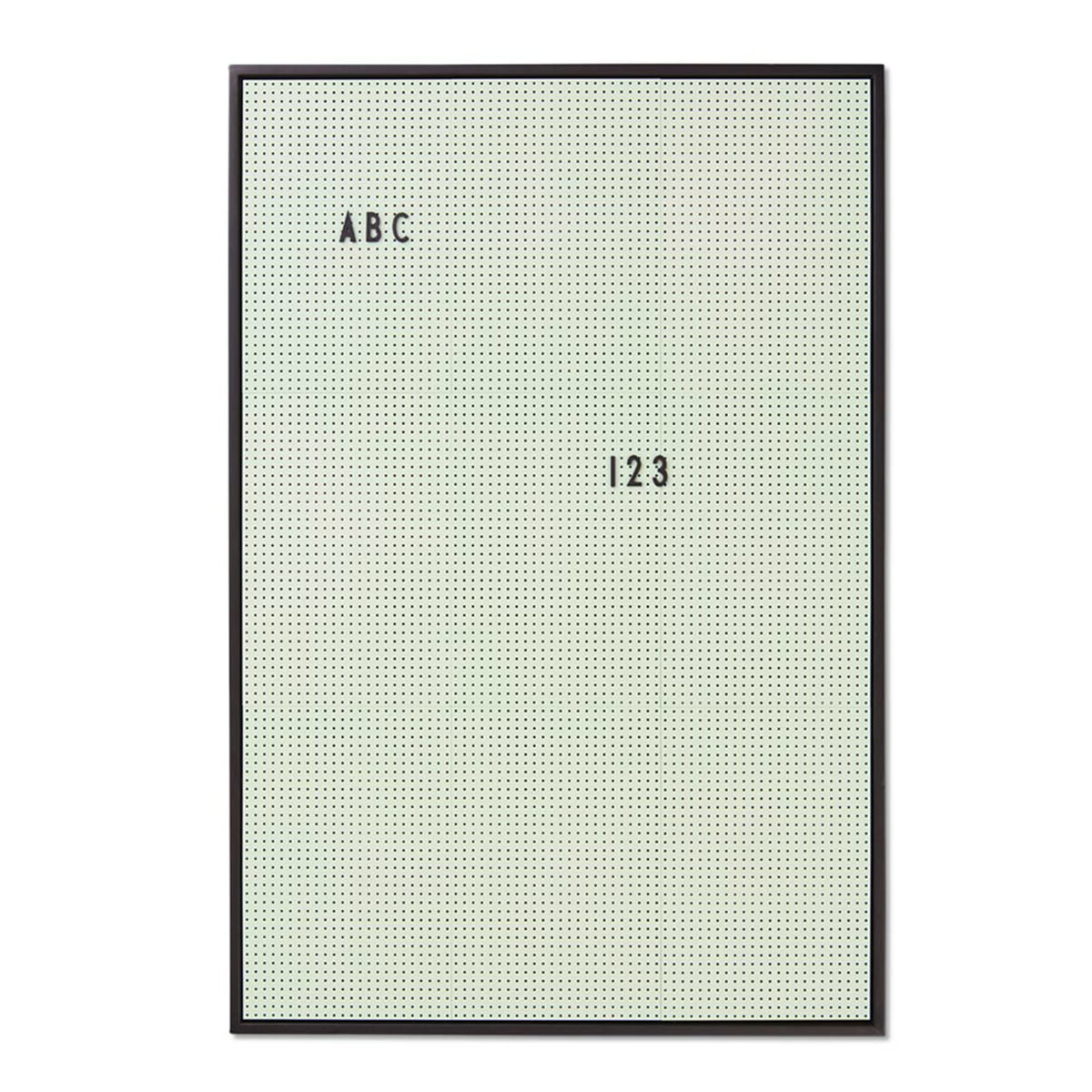 Design letters message board a2 gruen