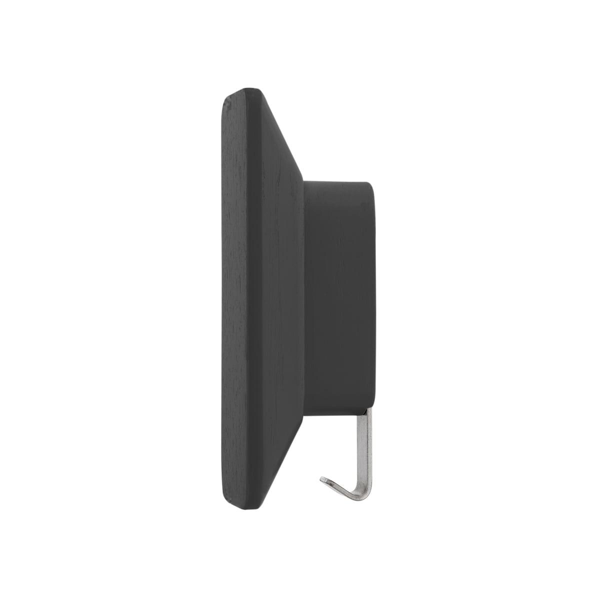 Schönbuch - 0380 Garderobenhaken, schieferschwarz | Flur & Diele > Garderoben > Garderobenhaken | Schwarz | Schönbuch