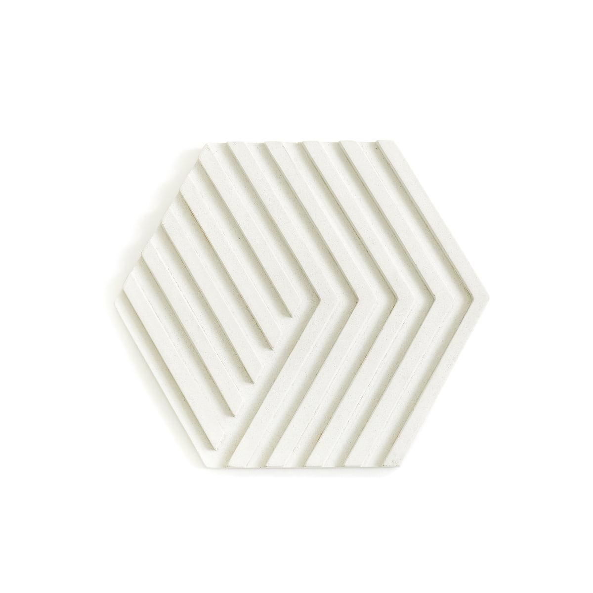 Areaware - Concrete Trivet Topf-Untersetzer, weiß | Küche und Esszimmer > Kochen und Backen > Töpfe | Weiß | Zement | Areaware