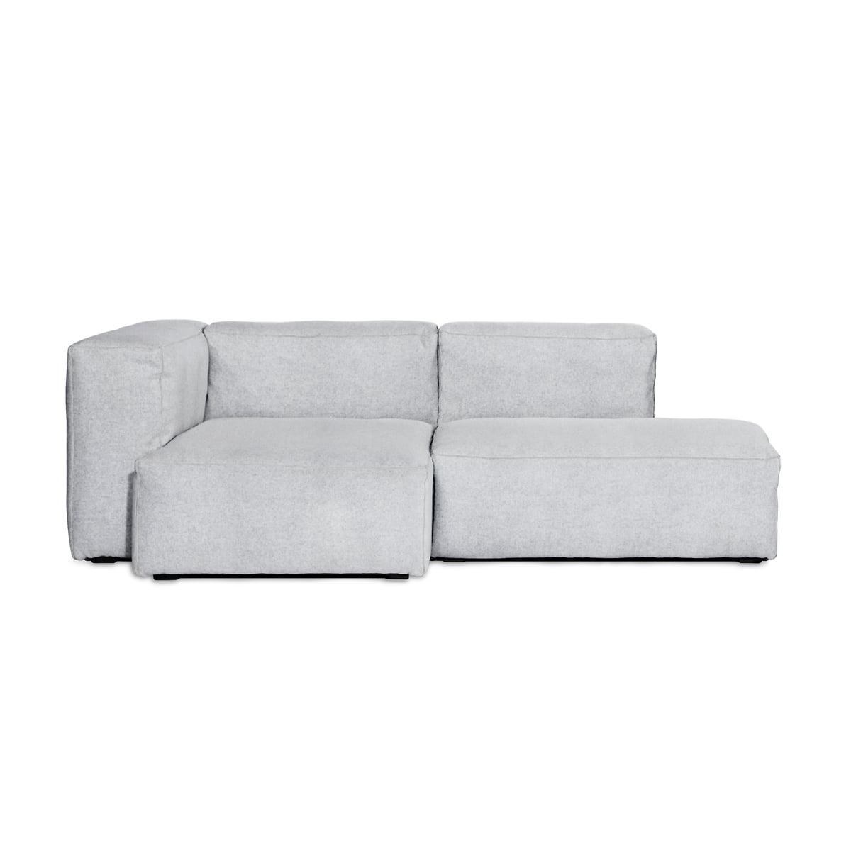 Hay mags soft sofa 2 5 sitzer kombination 3 hellgrau steelcut 2 120 helle naehte