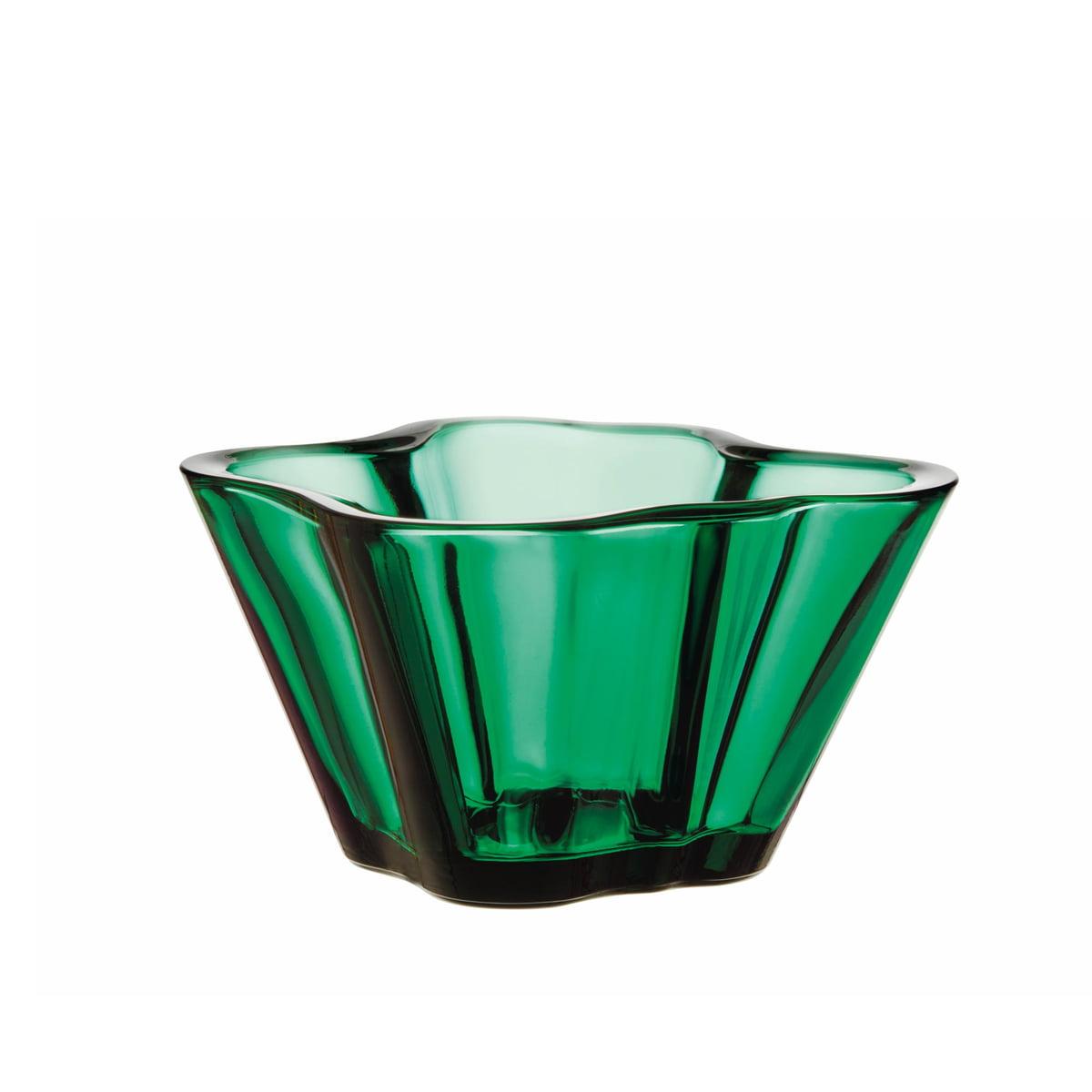 Iittala - Aalto Schale 75 mm, smaragdgrün | Dekoration | Smaragdgrün | Iittala