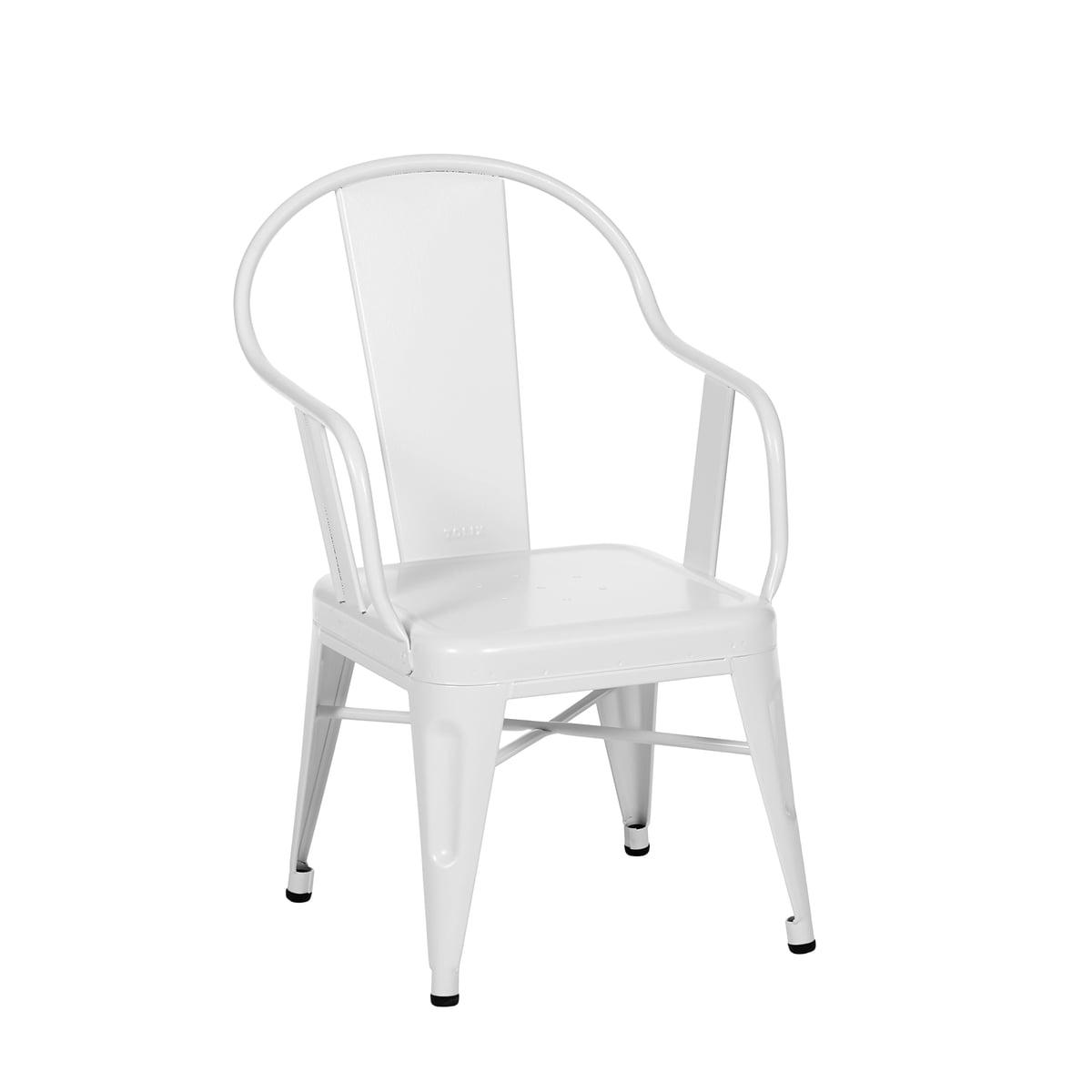 Tolix - Möwe Kinderstuhl, weiß matt | Kinderzimmer > Kinderzimmerstühle > Kinderstühle | Weiß matt | Tolix