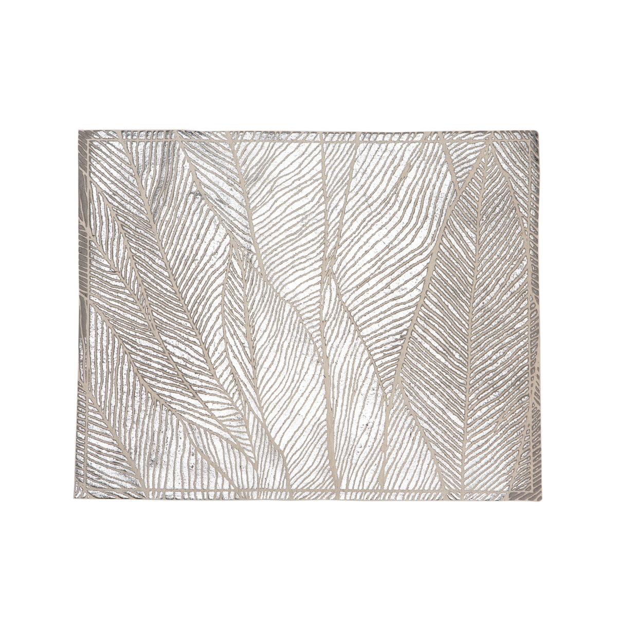Mika Barr - TischsetPinion, 50 x 40 cm, silber | Heimtextilien > Tischdecken und Co > Tisch-Sets | Silber | Mika Barr