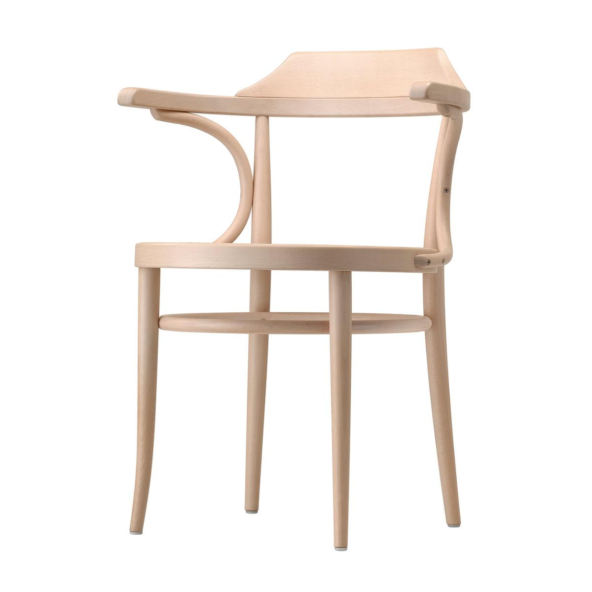 Thonet - 233 Bugholzstuhl, Rohrgeflecht mit Kunststoffstützgewebe / Buche hell (TP 107) | Küche und Esszimmer > Stühle und Hocker > Holzstühle | Buche hell | Thonet