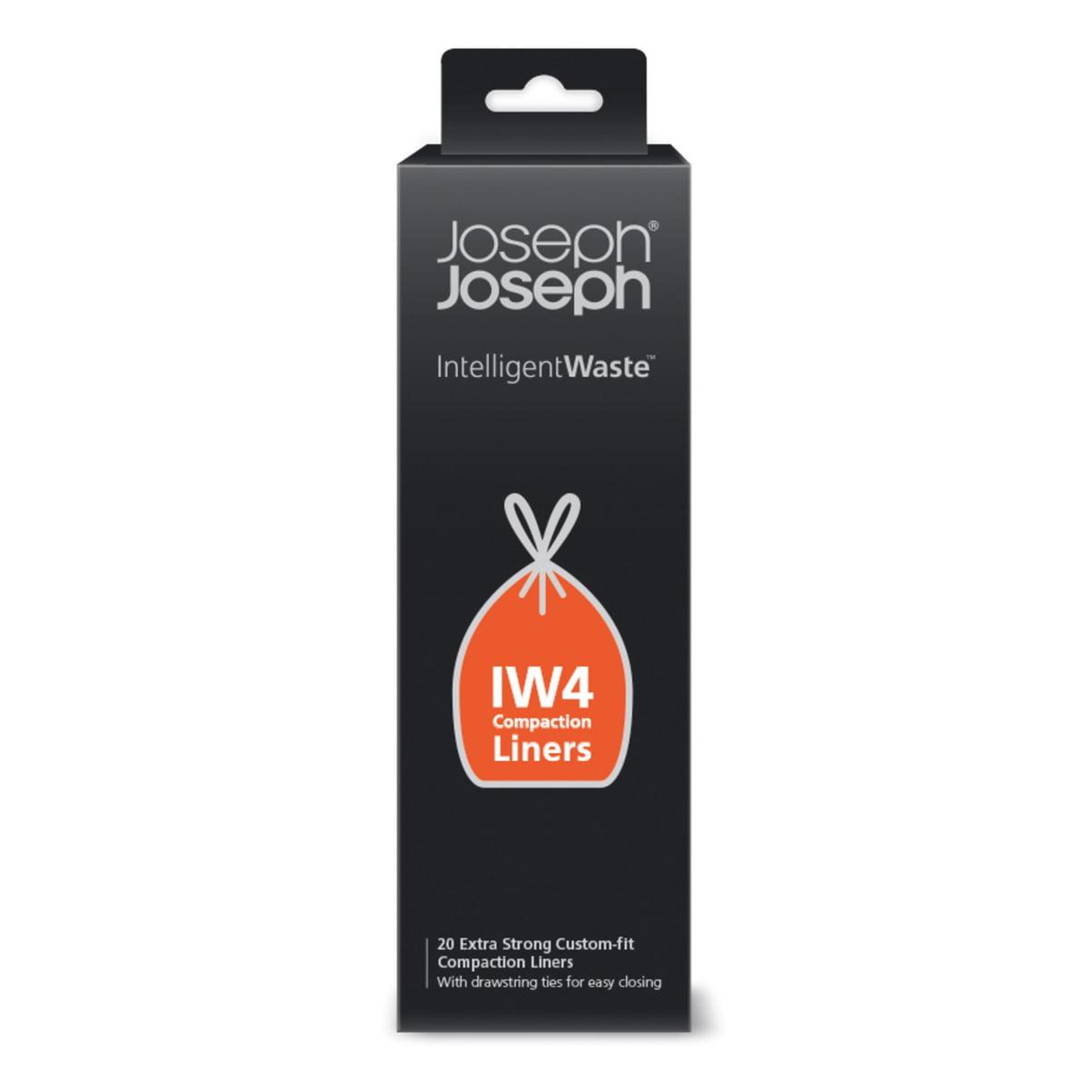 Joseph Joseph - Müllbeutel zu Titan Treteimer, 30 l (20er-Pack)   Bad > Bad-Accessoires > Kosmetikeimer   Schwarz   Hdpe (hart-polyethylen)   Joseph Joseph