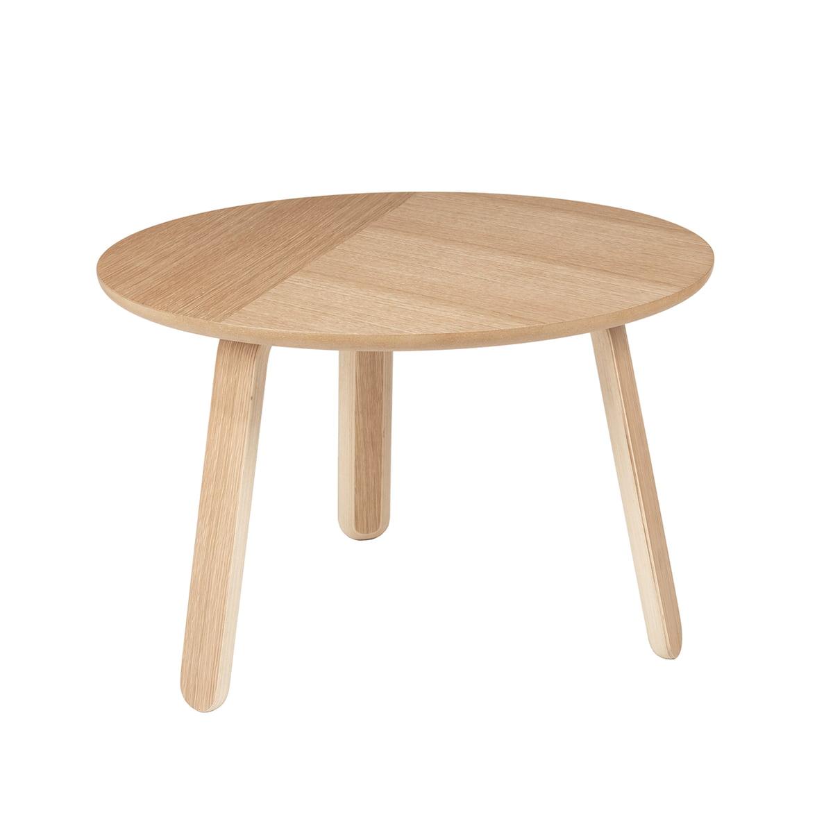 Gubi - Paper Couchtisch Ø 60 cm, Eiche | Wohnzimmer > Tische > Couchtische | Eiche natur | Gubi