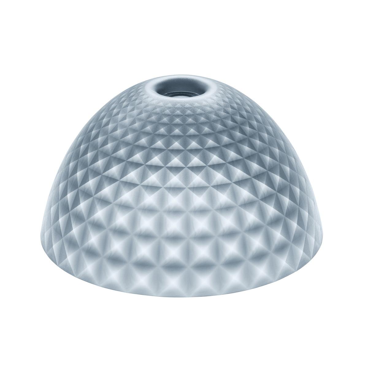 Koziol - Stella Silk Lampenschirm M, transparent anthrazit | Lampen > Lampenschirme und Füsse | Anthrazit | Thermoplastischer kunststoff | Koziol