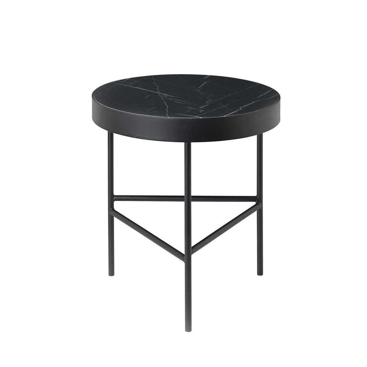 Marble table medium schwarz frei