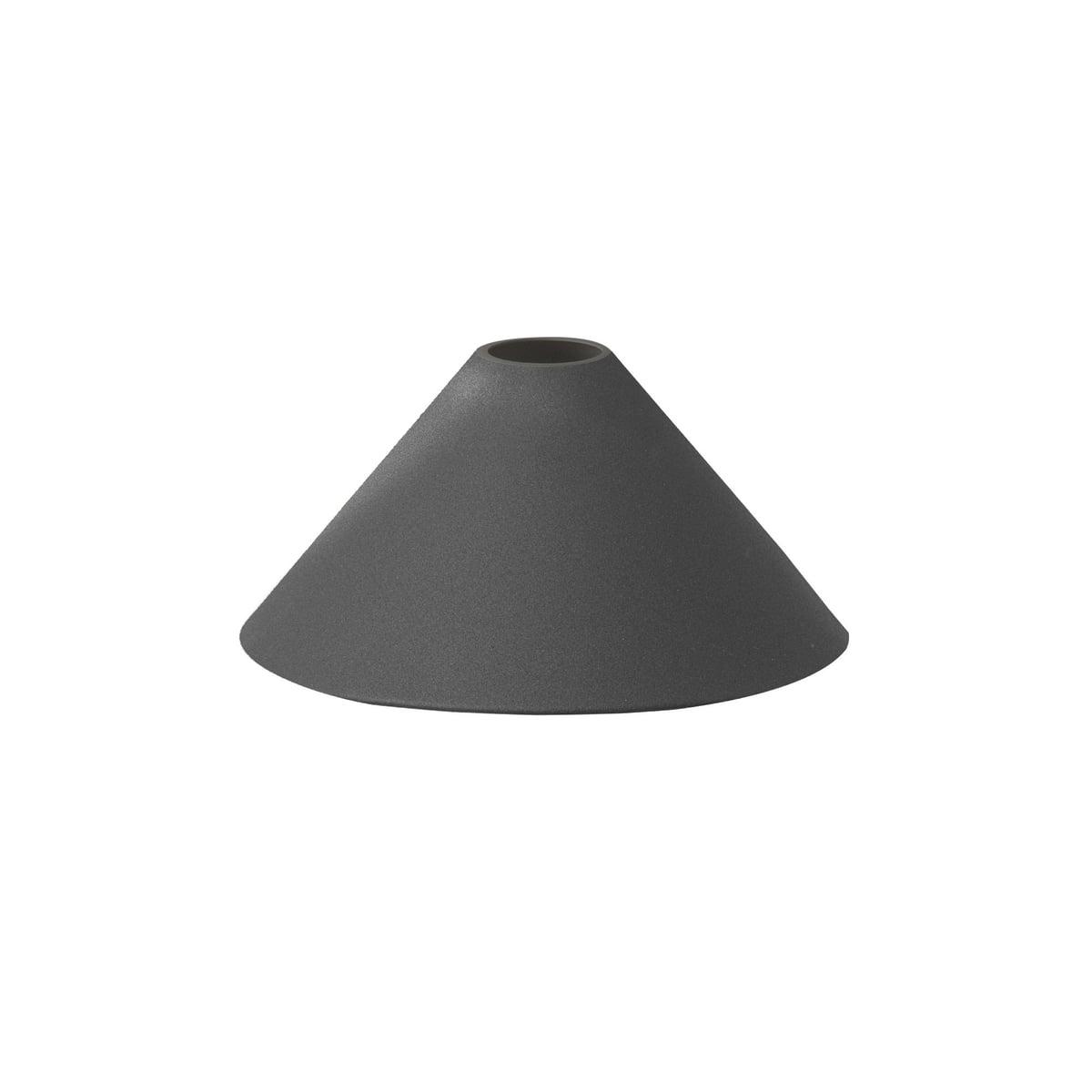 ferm Living - Cone Shade Lampenschirm, schwarz | Lampen > Lampenschirme und Füsse | Schwarz | ferm living