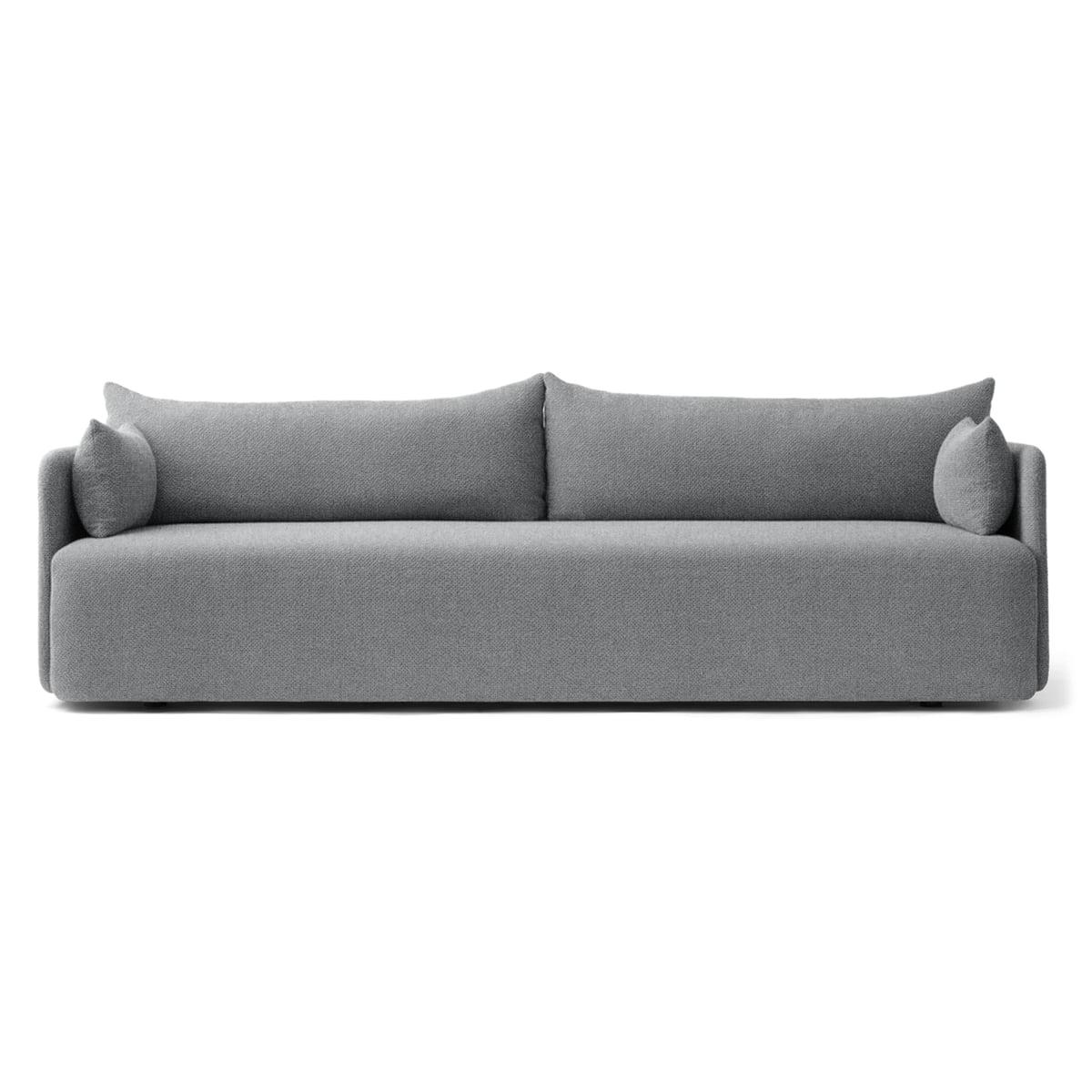 Menu offset sofa 3 sitzer hellgrau
