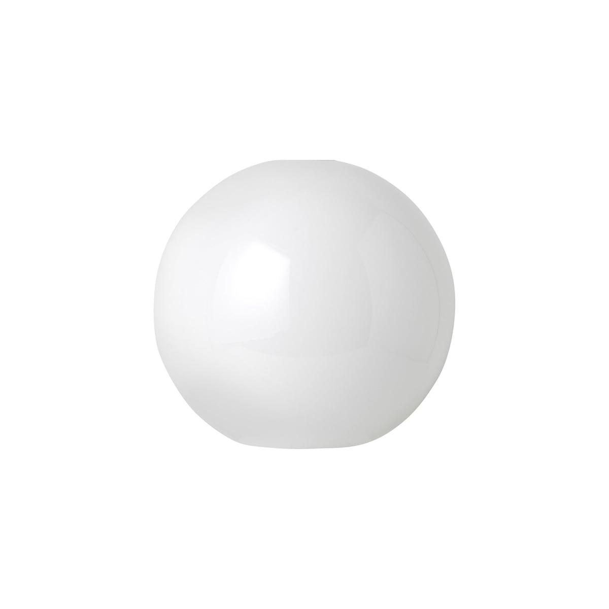 ferm Living - Opal Shade Lampenschirm, Sphere   Lampen > Lampenschirme und Füsse > Lampenschirme   Opalweiß   Opalglas   ferm living