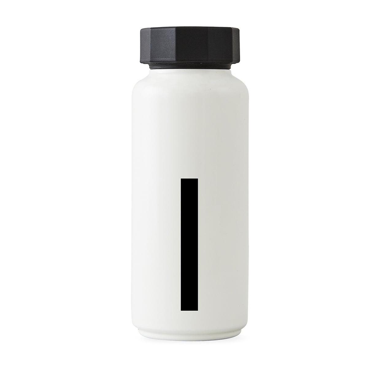 Design Letters - AJ Thermosflasche I, weiß | Küche und Esszimmer > Besteck und Geschirr > Kannen und Wasserkessel | Weiß | Edelstahl -  polypropylen | Design Letters