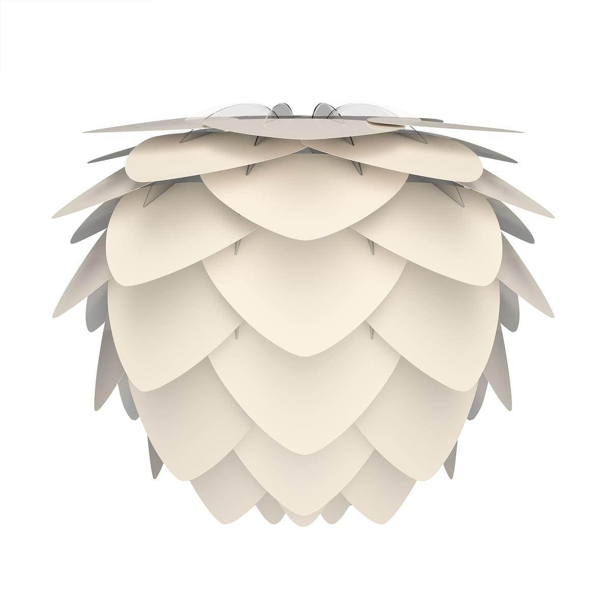 Umage - Aluvia Lampenschirm medium, Ø 59 cm / pearl | Lampen | Créme | Aluminium -  polypropylen -  polycarbonat | Umage
