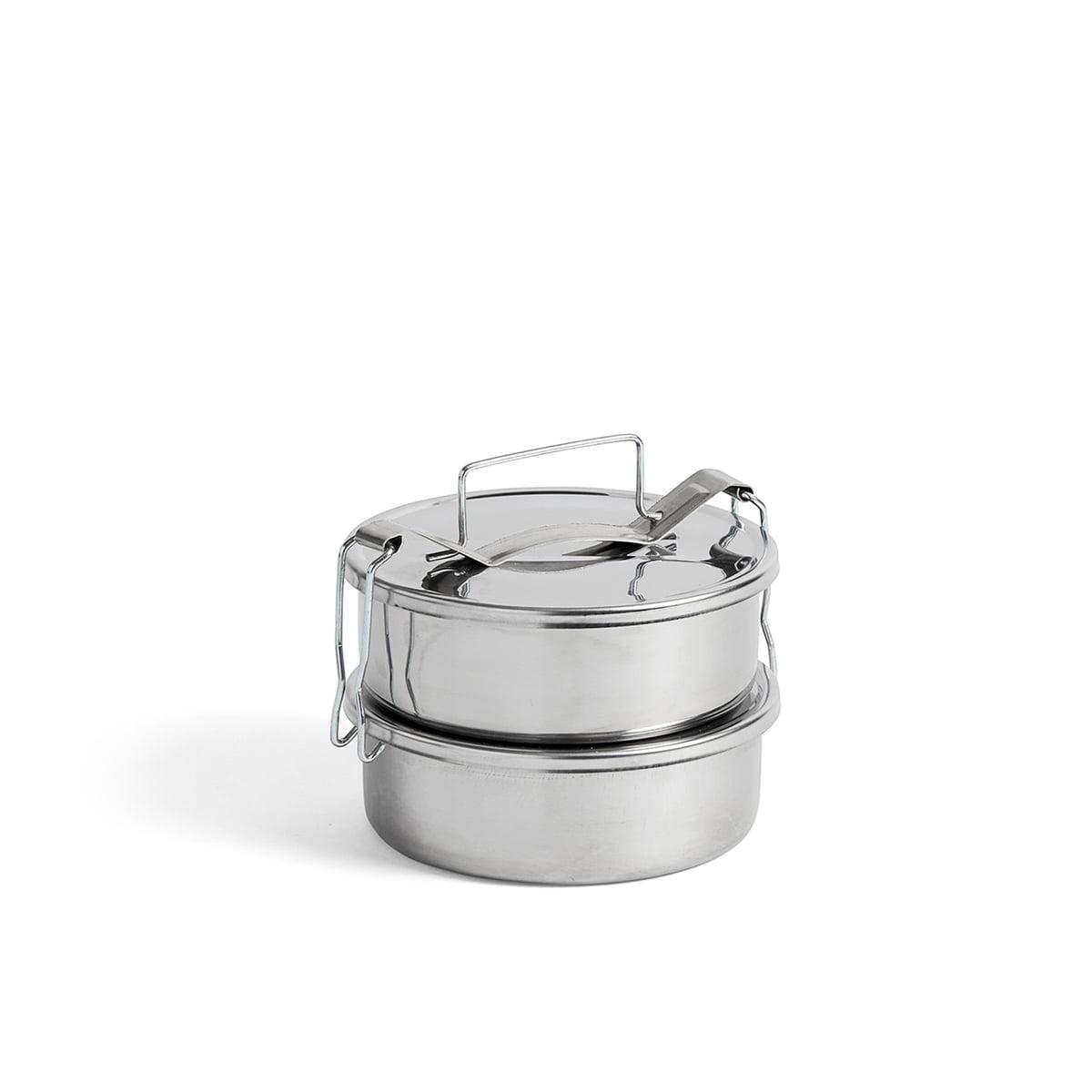 Hay - Picknick Container S, Edelstahl | Büro > Büroschränke > Container | Edelstahl | Edelstahl | Hay