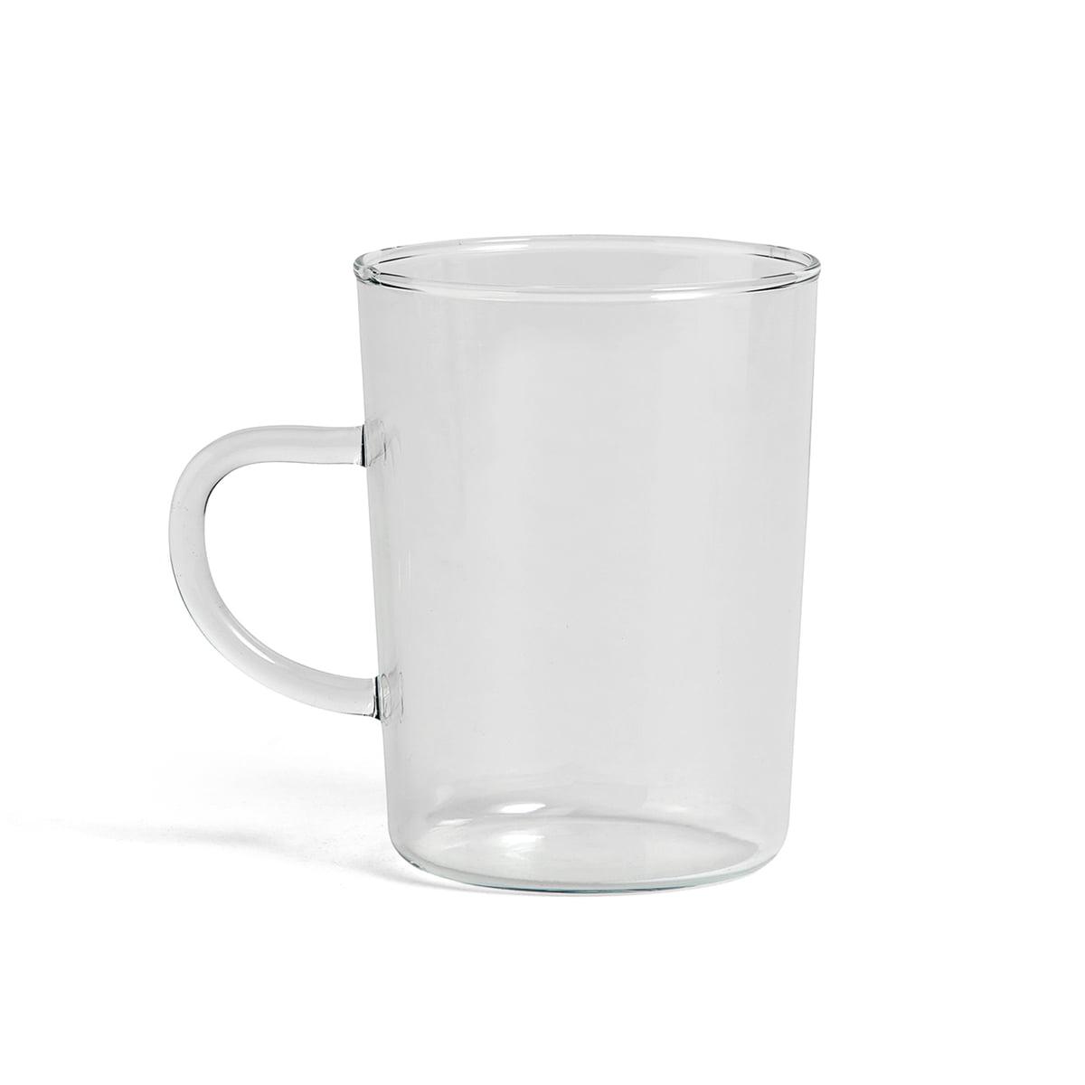 Hay - Glas Teetasse, klar   Küche und Esszimmer > Besteck und Geschirr > Geschirr   Transparent -  durchsichtig   Hay
