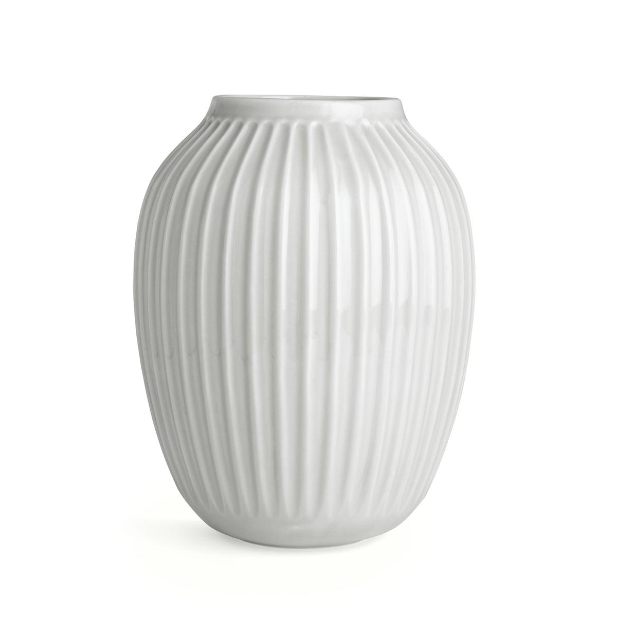Kaehler design hammershoi vase h 25 cm weiss frei