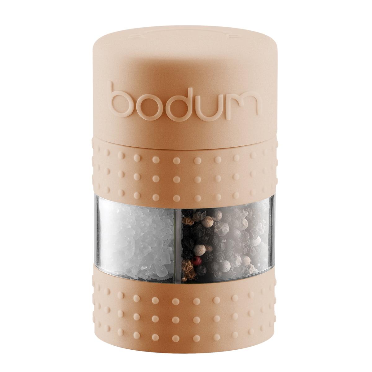 Bodum - Bistro Salz- und Pfeffermühle, cream | Küche und Esszimmer > Besteck und Geschirr > Geschirr | Beige | Gummi -  kunststoff -  keramik -  aluminium -  edelstahl | Bodum