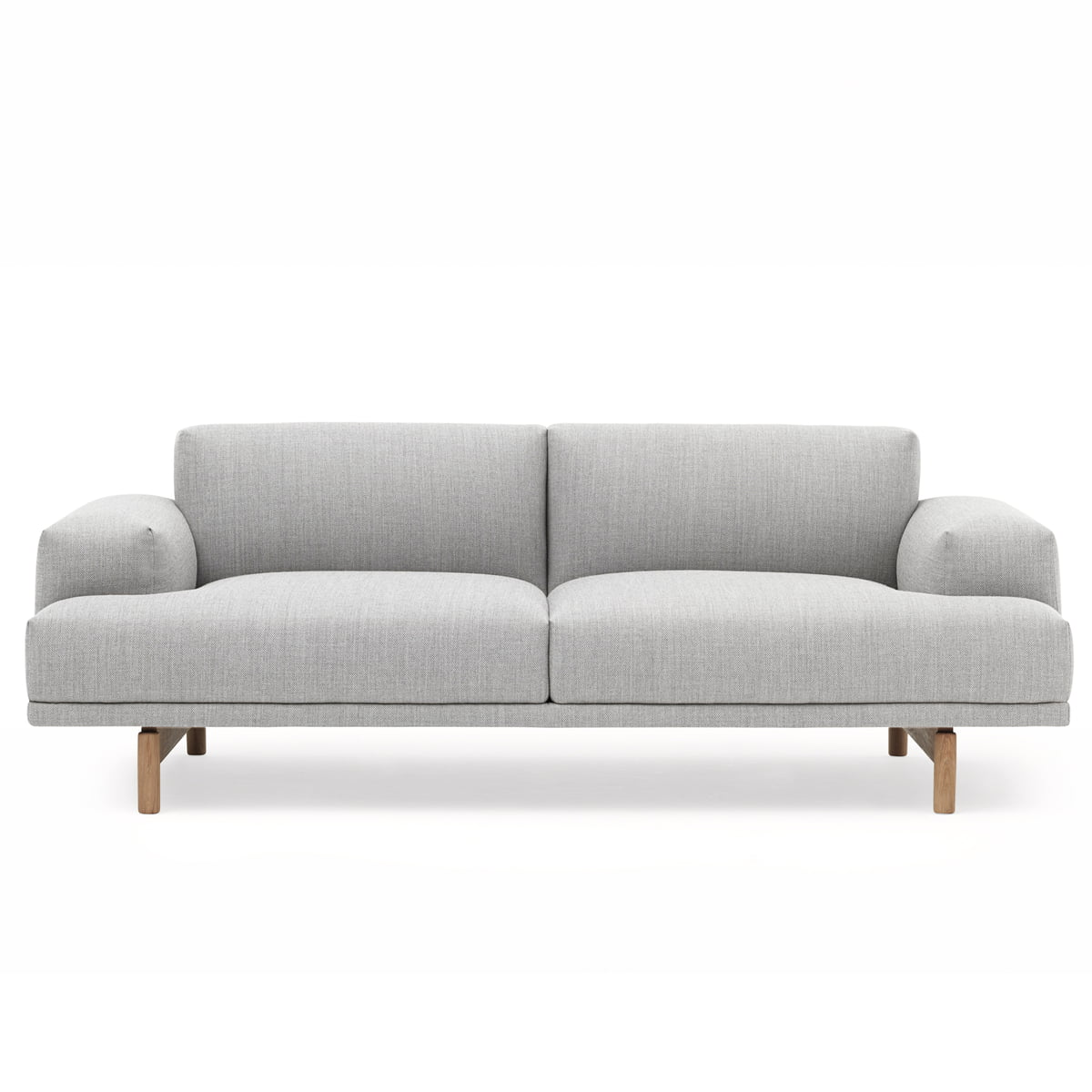 Muuto compose sofa 2 sitzer vancouver 14 eiche frei