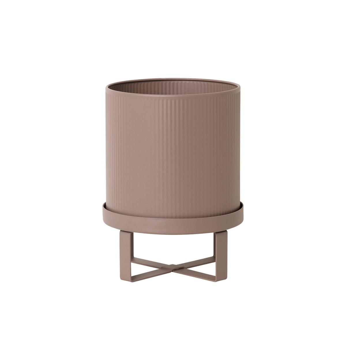 Ferm living bau pflanztopf dm 18 x h 24 cm rosa frei