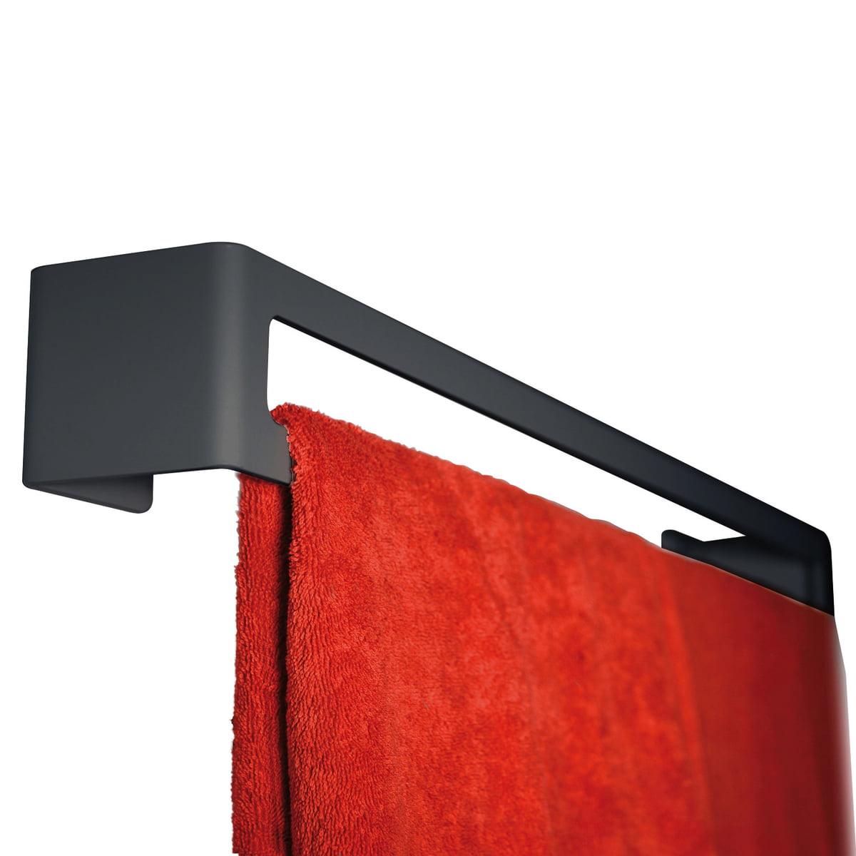 Radius Design - Puro Handtuchhalter (Wand), schwarz | Bad > Bad-Accessoires > Handtuchhalter | Schwarz | Radius Design