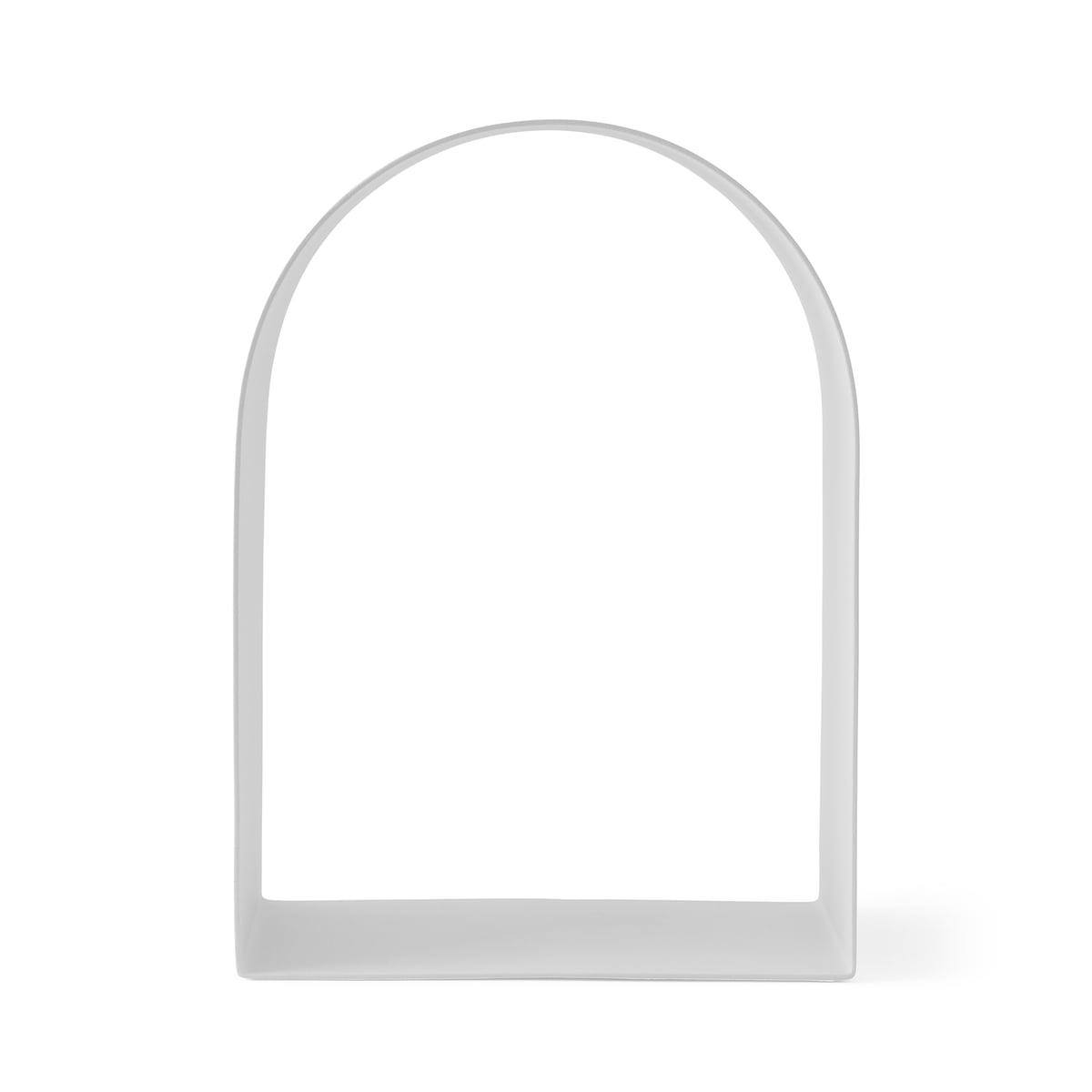 Menu - Shrine Dekoregal medium, weiß | Wohnzimmer > Regale > Einzelregale | Weiß | Menu