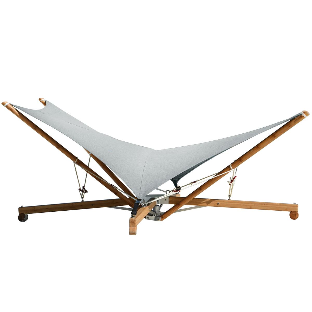 Cacoon - Kajito Hängematte / Liegestuhl, Bambusstruktur, Stoff earth / moon | Garten > Hängematten | Cacoon