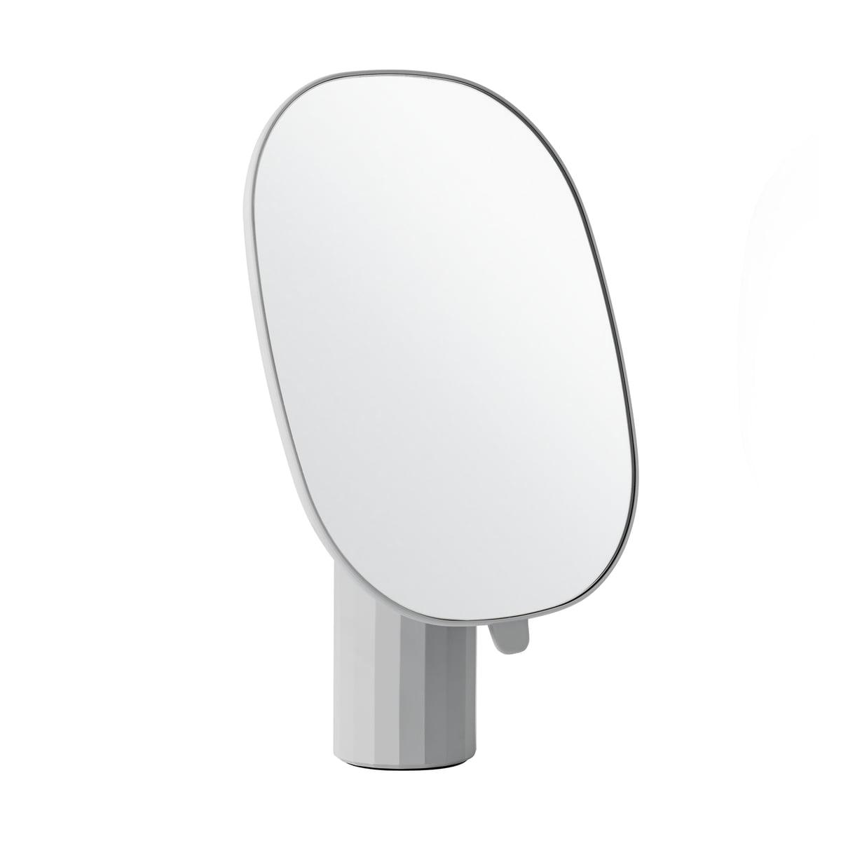 Muuto - Mimic Tischspiegel, grau | Flur & Diele > Spiegel > Standspiegel | Grau | Abs-kunststoff -  resin -  glas | Muuto