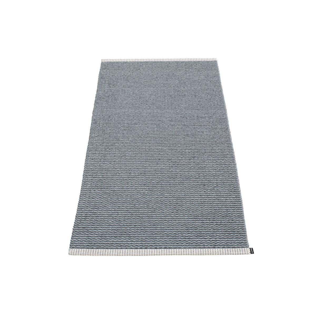 Pappelina - Mono Teppich, 60 x 150 cm, granit / grey | Heimtextilien > Teppiche | Granitgrau | Kettfäden aus polyester | Pappelina