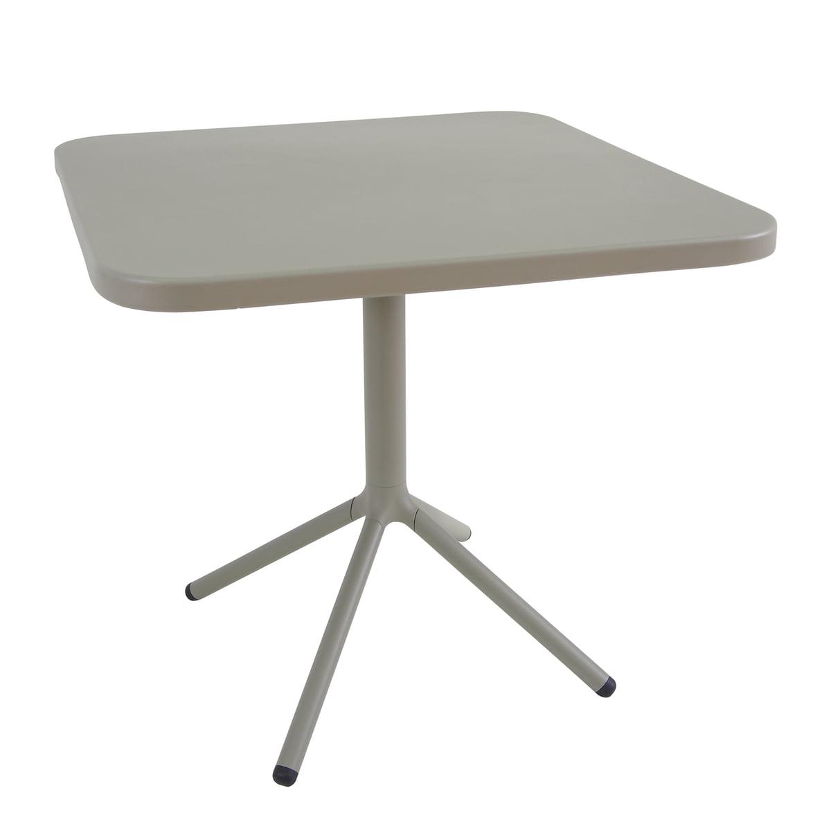 Emu - Grace Bistrotisch H 74 cm, 70 x 70 cm, grau-grün | Küche und Esszimmer > Bar-Möbel | Graugrün | Emu